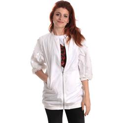 textil Mujer Cortaviento Fornarina BE173C31N30009 Blanco