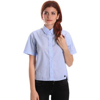 textil Mujer Camisas Fornarina BE174567CA1218 Azul