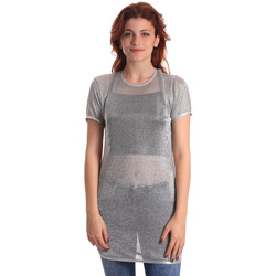 textil Mujer Tops / Blusas Fornarina BE175J69H27090 Gris