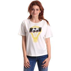 textil Mujer Camisetas manga corta Fornarina BE175L27JG1608 Blanco