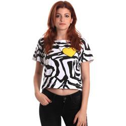 textil Mujer Camisetas manga corta Fornarina BE175L35JG0700 Negro