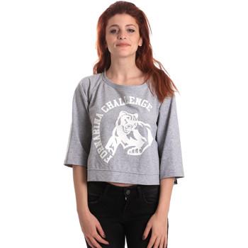 textil Mujer Sudaderas Fornarina BE176841F42706 Gris