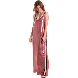textil Mujer Vestidos largos Fornarina BE178D61CA05E9 Rosado