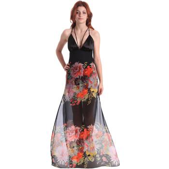 textil Mujer Vestidos largos Fornarina BE178D67CA0700 Negro