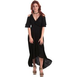 textil Mujer Vestidos largos Fornarina BE178D69CA2000 Negro