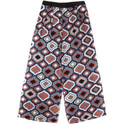 textil Mujer Pantalones fluidos Fornarina BER1L08C98294 Negro
