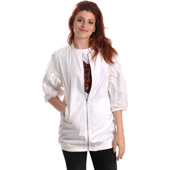 textil Mujer Cortaviento Fornarina SE173C31N30009 Blanco