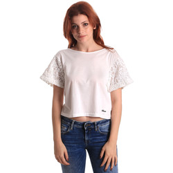 textil Mujer Tops / Blusas Fornarina SE175J88JG1309 Blanco