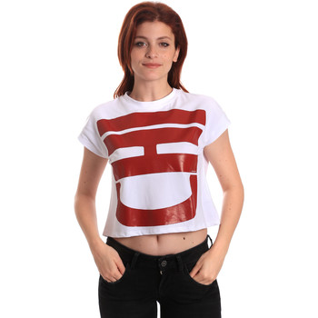 textil Mujer Camisetas manga corta Fornarina SE175L31JG0709 Blanco
