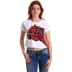 textil Mujer Camisetas manga corta Fornarina SE175L32JG0709 Rojo