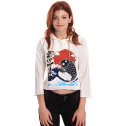 textil Mujer Sudaderas Fornarina SE176842F42709 Blanco