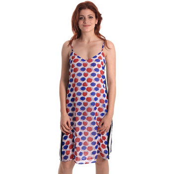 textil Mujer Vestidos cortos Fornarina SE178D82CA0676 Blanco