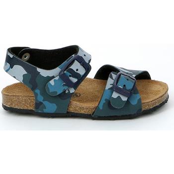 Zapatos Niños Sandalias Grunland SB0911 Azul