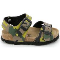 Zapatos Niños Sandalias Grunland SB0169 Verde