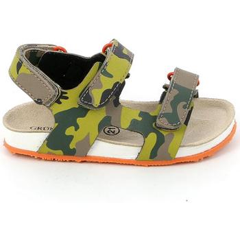 Zapatos Niños Sandalias Grunland SB0832 Verde