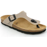 Zapatos Niños Chanclas Grunland CB0926 Beige