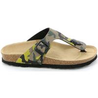 Zapatos Niños Chanclas Grunland CB0406 Verde