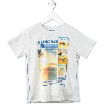 textil Niños Camisetas manga corta Losan 713 1021AA Gris