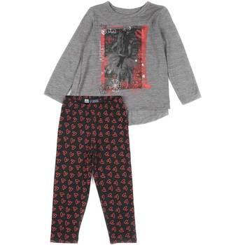 textil Niña Conjunto Losan 626 8016AD Gris