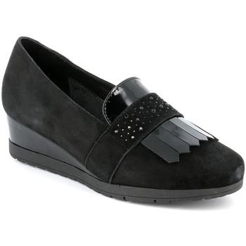 Zapatos Mujer Mocasín Grunland SC4786 Negro