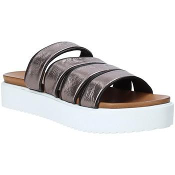 Zapatos Mujer Zuecos (Mules) Grunland CI1517 Gris