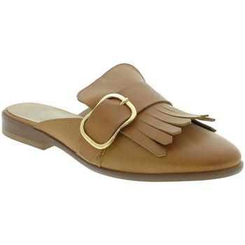 Zapatos Mujer Zuecos (Clogs) Mally 6116 Marrón