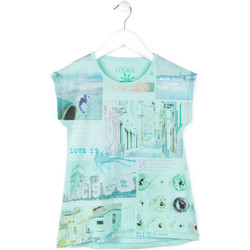 textil Niña Camisetas manga corta Losan 714 1215AB Azul