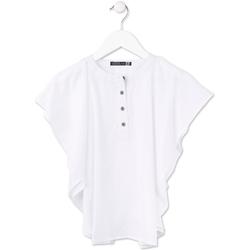 textil Niña Tops / Blusas Losan 714 3002AB Blanco