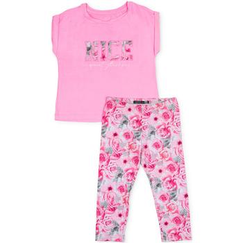 textil Niña Conjunto Losan 714 8004AB Rosado
