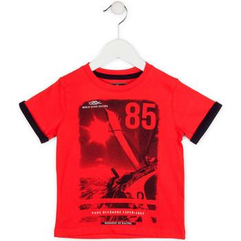 textil Niño Camisetas manga corta Losan 715 1001AC Rojo