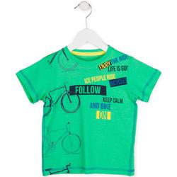 textil Niño Camisetas manga corta Losan 715 1014AC Verde