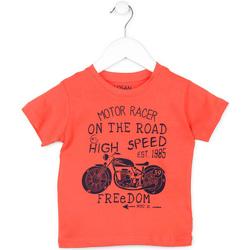 textil Niños Camisetas manga corta Losan 715 1215AC Naranja