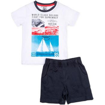 textil Niño Conjunto Losan 715 8042AC Blanco