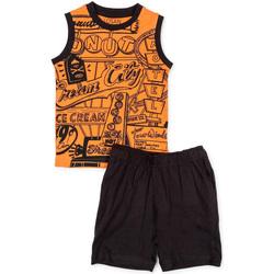 textil Niño Conjunto Losan 715 8043AC Naranja