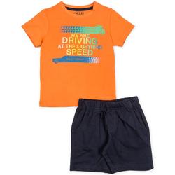 textil Niño Conjunto Losan 715 8047AC Naranja