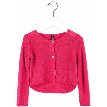 textil Niña Chaquetas de punto Losan 716 5000AD Rosado