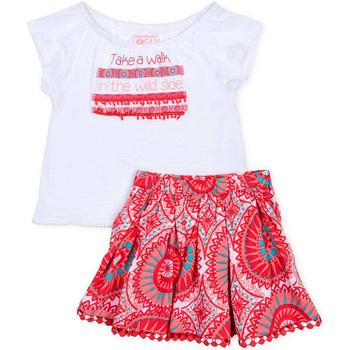 textil Niña Conjunto Losan 716 8010AD Blanco