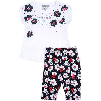 textil Niña Conjunto Losan 716 8012AD Blanco