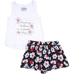 textil Niña Conjunto Losan 716 8013AD Blanco
