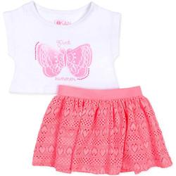 textil Niña Conjunto Losan 716 8016AD Blanco