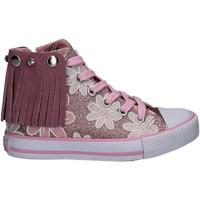 Zapatos Niña Zapatillas altas Lulu LV010072S Rosado