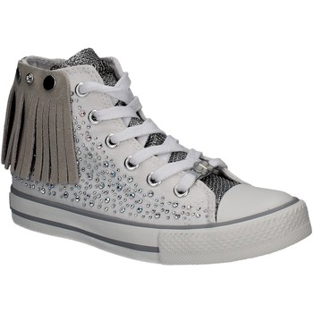 Zapatos Niña Zapatillas altas Lulu LV010072S Blanco