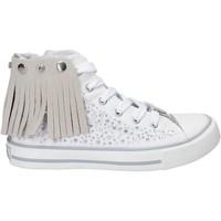 Zapatos Niña Zapatillas altas Lulu LV010074T Blanco