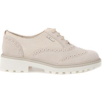 Zapatos Niños Derbie Geox J6420F 02211 Beige