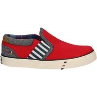 Zapatos Niños Slip on Wrangler WJ17103 Rojo