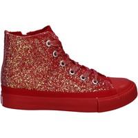 Zapatos Niña Zapatillas altas Lulu LV010077S Rojo