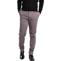 textil Hombre Pantalones chinos Gas 360704 Gris