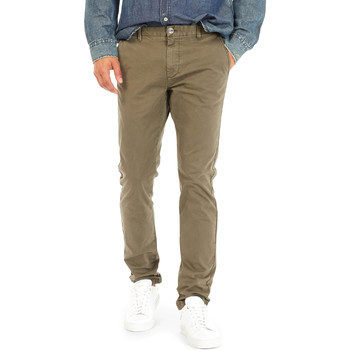 textil Hombre Pantalones chinos Gas 360702 Verde