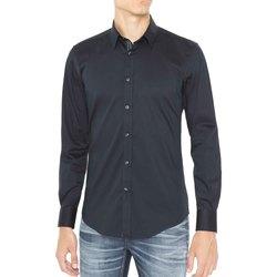 textil Hombre Camisas manga larga Antony Morato MMSL00415 FA450001 Azul