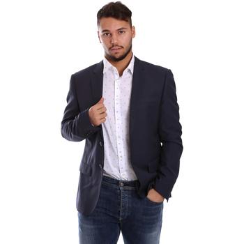 textil Hombre Chaquetas / Americana Antony Morato MMJA00314 FA600040 Azul